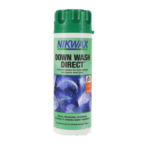 Detergent si impermeabilizant pentru Puf Nikwax Down Wash Direct 300 ml