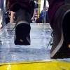 Talpa Vibram calcă gheaţa în picioare