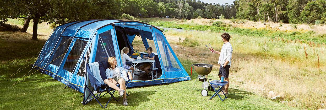 Camping cu familia