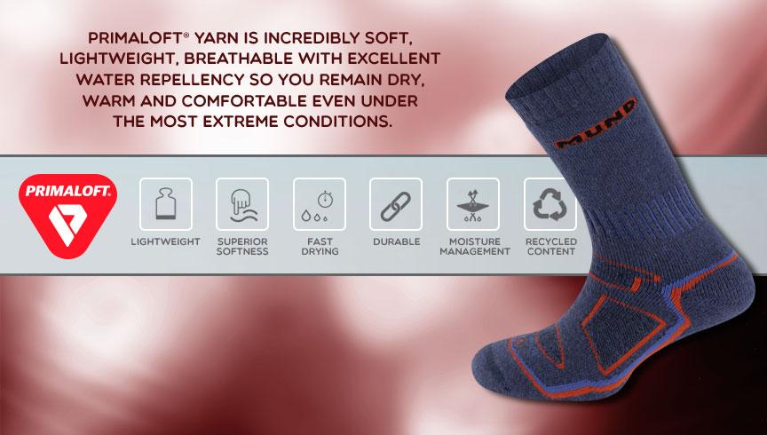 Sosete tehnice cu fibre speciale