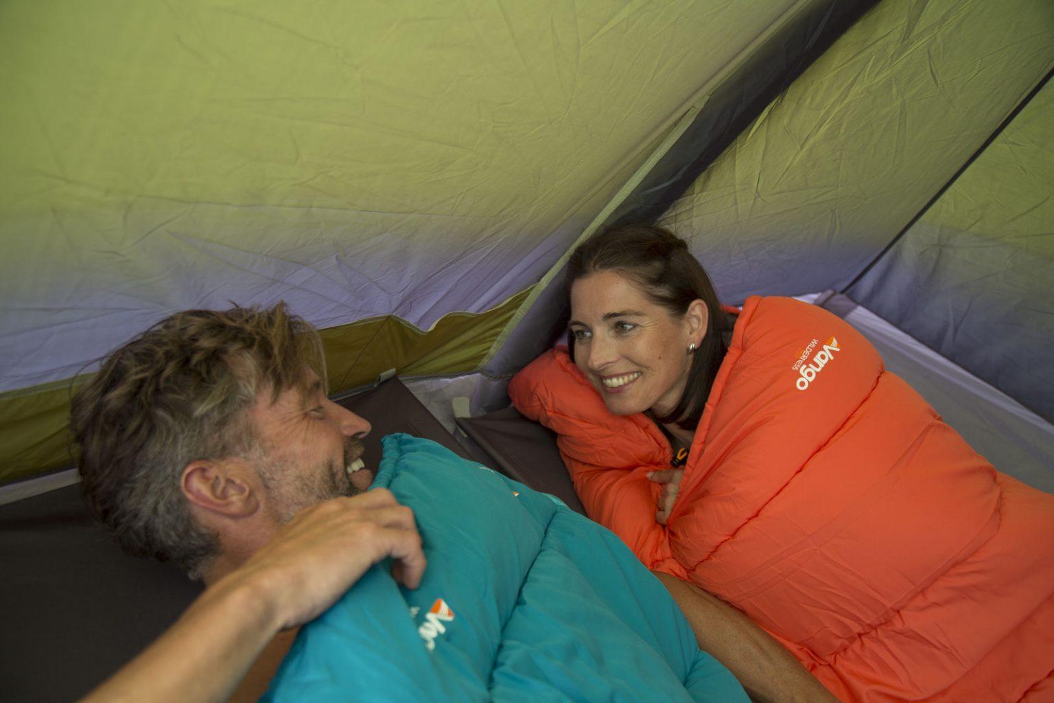 Camping pe canicula