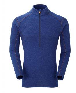 Bluza corp lana merino Montane Primino Zip 220 g