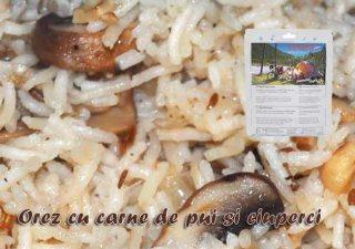 Mancare deshidratata Travellunch - Risotto Pui 250 gr