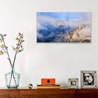 Tablou canvas 50x70 - Răsărit in Ceahlău