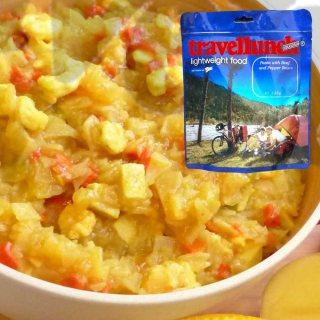 Mancare deshidratata Travellunch - Caribbean curry cartofi, pui si creveti 250gr