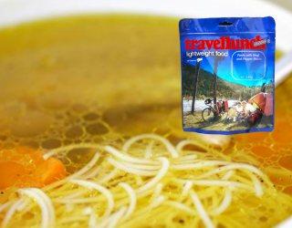 Mancare dezhidratata liofilizata Travellunch Aliment instant Chicken soup with Noodles 2x500ml