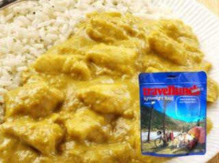 Mancare dezhidratata liofilizata Travellunch Chicken Korma Curry with Rice 250 g