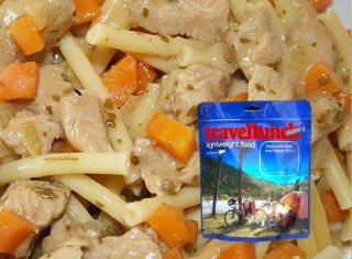 Mancare dezhidratata liofilizata Travellunch Chicken Noodle Hot Pot