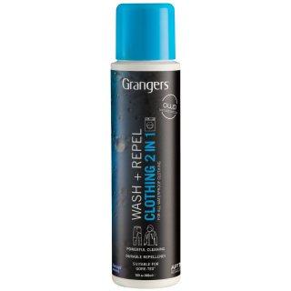 Solutie intretinere si impermeabilizare Grangers Wash + Repel Clothing 2 IN 1