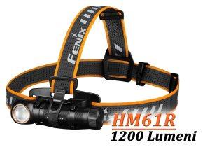 Lanterna Fenix HM61R - Lanterna frontala - 1200 Lumeni - 145 Metri