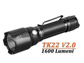 Lanterna Tactica Fenix TK22 V2.0 - 1600 Lumeni - 405 Metri