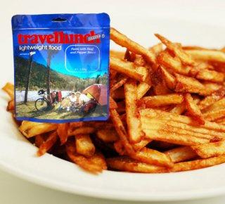 Mancare dezhidratata liofilizata Travellunch Aliment instant Fried Potatoes with Ham  lactose free 125 g