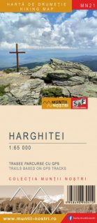 Harta Muntii Harghitei