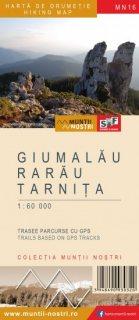 Harta montana Muntii Giumalau-Rarau-Tarnita