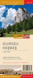 Harta montana Giurgeu Hasmas