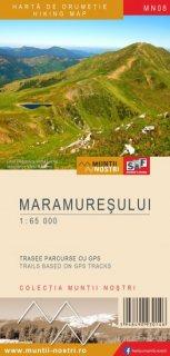Harta montana Muntii Maramuresului