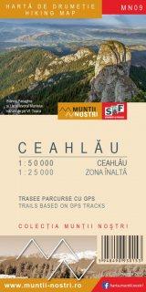 Harta montana Ceahlau