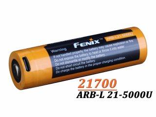 Fenix 21700 - 5000mAh - Acumulator USB Type-C - ARB-L 21-5000U