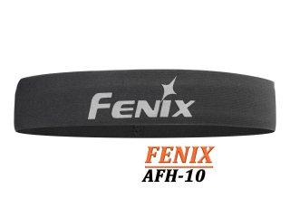 Fenix AFH-10 - Banda elastica de cap reflectorizanta - intru activitasi sportive - Gri