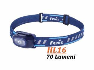 Fenix HL16 - Lanterna frontala - 70 Lumeni - 35 Metri - Albastru