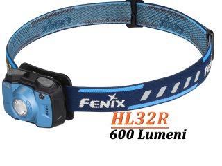 Fenix HL32R - Lanterna Frontala î - 600 Lumeni - 73 Metri - Albastru