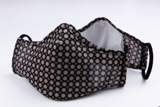 Masca de protectie reutilizabila 3 straturi Negru