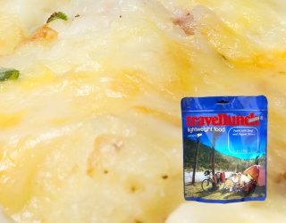 Mancare dezhidratata liofilizata Travellunch Mashed Potatoes,with Ham and Leek 125g