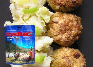 Mancare dezhidratata liofilizata Travellunch Meatballs&Mash Potato 125g