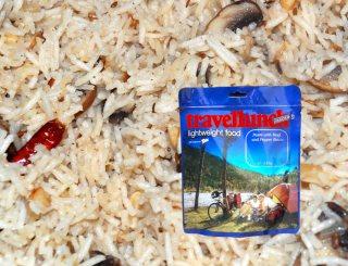 Mancare dezhidratata liofilizata Travellunch Vegetable Risotto  gluten free