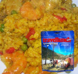 Mancare deshidratata liofilizata Travellunch Paella Gluten free