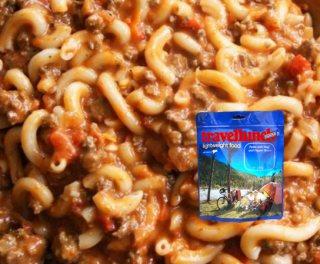 Mancare dezhidratata liofilizata Travellunch Aliment Pasta with Beef and Pepper Sauce 250g
