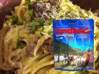 Mancare dezhidratata liofilizata Travellunch Pasta Carbonara 250g