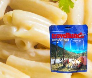 Mancare dezhidratata liofilizata Travellunch Aliment instant Pasta in Cheese Sauce 125g vegetarian