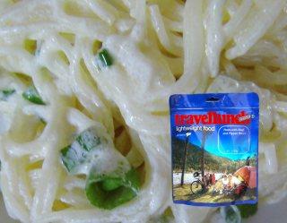 Mancare dezhidratata liofilizata Travellunch Pasta in Creamy Souce with Herbs 125g vegetarian