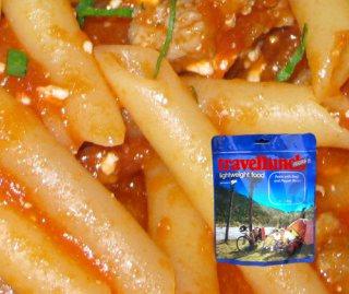 Mancare deshidratata liofilizata Travellunch Pasta with Napoli Tomato Sauce 125g vegetarian