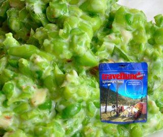 Mancare dezhidratata liofilizata Travellunch Aliment Green Pea Mash with Ham