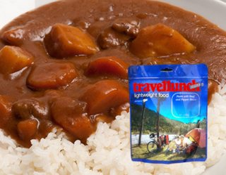 Mancare dezhidratata liofilizata Travellunch Aliment Rice with Beef and Pepper sauce 250g