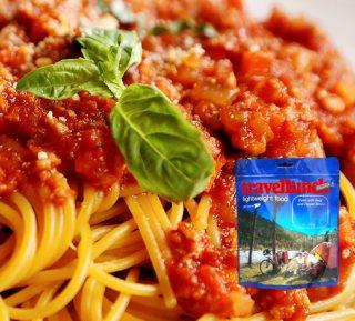 Mancare dezhidratata liofilizata Travellunch Aliment instant Spaghetti Bolognese 125g