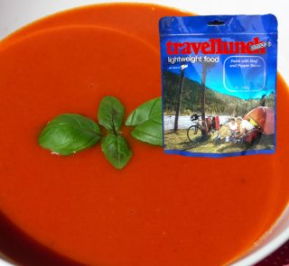 Mancare dezhidratata liofilizata Travellunch Aliment instant Tomato Soup 2x500ml
