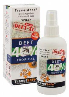 Spray antiinsecte TravelSafe Deet 40% XL TS207 200ml