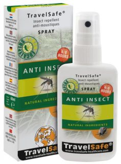 Spray antiinsecte TravelSafe TS0242 60ml