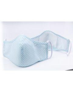 Masca de protectie reutilizabila 3 straturi Bleu